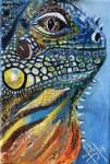 Obras de arte:  : Panamá : Panama-region : albrook : Iguana 2