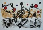 Obras de arte:  : España : Catalunya_Barcelona : Barcelona : ABSTRACCION-14