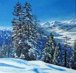 Obras de arte: America : Chile : Region_Metropolitana-Santiago : Renca : Caminos nevados