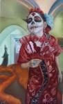 Obras de arte: America : México : Jalisco : Guadalajara : Catrina con Abanico, Asendente feniz y dragon