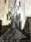 Obras de arte: Europa : España : Comunidad_Valenciana_Alicante : Castalla : Calle Gradas