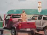 Obras de arte: America : Argentina : Buenos_Aires : Ciudad_de_Buenos_Aires : Parking Scene
