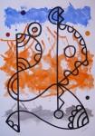 Obras de arte:  : España : Catalunya_Barcelona : Barcelona : LINEA Y COLOR-3