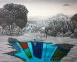 Obras de arte: America : Colombia : Cundinamarca : usaquen : MIRANDO AL FUTURO