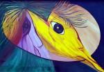 Serie pájaros y quindes