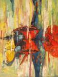 Obras de arte: Europa : Espa�a : Murcia : Torre_Pacheco : BODEGON CON BOTELLA