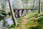 <a href='https://www.artistasdelatierra.com/obra/157018-Pont-de-les-Mores-%28Olot%29.html'>Pont de les Mores (Olot) » Pere Ventura Julià<br />+ más información</a>