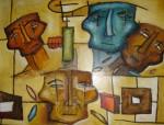 Obras de arte: America : México : Hidalgo : pachuca : rostros de la tierra