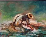 <a href='https://www.artistasdelatierra.com/obra/157503-lavando-en-el-rio-Seco-Reigada.html'>lavando en el rio Seco-Reigada » Jose Luis Fernandez Rodriguez<br />+ más información</a>