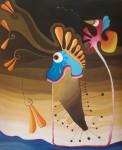 Obras de arte: America : México : Quintana_Roo : cancun : Estuve en el Mar y el Desierto al mismo Tiempo