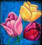 Obras de arte: America : Argentina : Tierra_del_Fuego : Ushuaia : Tulipanes en Ushuaia