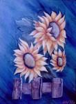 Obras de arte: America : Argentina : Tierra_del_Fuego : Ushuaia : Girasoles