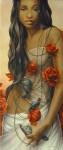 Obras de arte: Europa : España : Valencia : valencia_ciudad : El collar de Rosa  _ Chelin Sanjuan