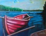 Obras de arte: America : Argentina : Tierra_del_Fuego : Ushuaia : Lancha de mi padre