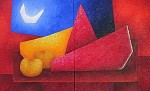 Obras de arte: America : M�xico : Mexico_region : Toluca : luna IV