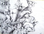 Obras de arte: America : Colombia : Santander_colombia : Bucaramanga : Boceto 01