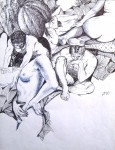 Obras de arte: America : Colombia : Santander_colombia : Bucaramanga : Boceto 02