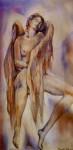 Obras de arte: America : México : Quintana_Roo : cancun : Angel acariciándose