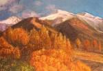 Obras de arte: Europa : España : Catalunya_Barcelona : BCN : Montañas nevadas
