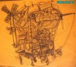 Obras de arte: Europa : España : Canarias_Santa_Cruz_de_Tenerife : Santa_Cruz_Tenerife : diseño dibujo5