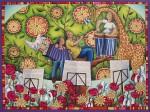 Obras de arte: Europa : España : Andalucía_Sevilla : Sevilla-ciudad : Tarde de música en el árbol