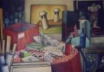 Obras de arte: Europa : España : Andalucía_Sevilla : Sevilla-ciudad : Tarde en el estudio
