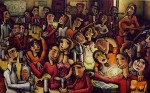 Obras de arte: Europa : España : Andalucía_Sevilla : Sevilla-ciudad : Historias en el bar