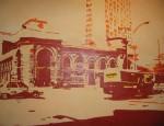 Obras de arte: America : Colombia : Antioquia : Medellín : Antiguo ferrocarril de Antioquia