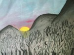 Obras de arte: Europa : España : Catalunya_Barcelona : Badalona : Árboles quemados