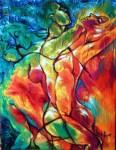 Obras de arte: America : Cuba : Ciudad_de_La_Habana : Centro_Habana : Una Mujer, un Hombre y nada mas