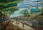 Obras de arte: America : Colombia : Antioquia : Medellín : Devenir citadino