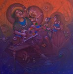 Obras de arte: America : Venezuela : Carabobo : Miranda_pueblo : serenatero de mi pueblo