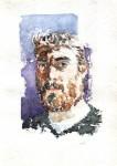 Obras de arte: America : Argentina : Buenos_Aires : General_Sarmiento : Autorretrato con barba