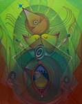 Obras de arte: America : Venezuela : Carabobo : Miranda_pueblo : rey pajaro