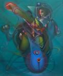 Obras de arte: America : Venezuela : Carabobo : Miranda_pueblo : una chispa de azul