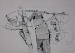 Obras de arte: Europa : Francia : Languedoc-Roussillon :  : La invención - Dibujo abstracto