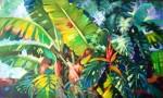 Obras de arte: America : Colombia : Santander_colombia : Bucaramanga : vegetacion magica 3