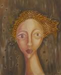 Obras de arte: Europa : España : Aragón_Teruel : Fuentespalda : mujer de oro