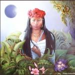 Obras de arte: America : Panamá : Panama-region : Panamá_centro : La jaibana (hechicera)