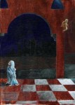 Obras de arte: America : Argentina : Cordoba : Cordoba_ciudad : Mujer cubierta de azul