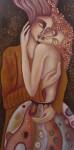 Obras de arte: Europa : España : Aragón_Teruel : Fuentespalda : el abrazo