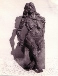 Obras de arte: Europa : España : Extremadura_Badajoz : badajoz_ciudad : Desnudo de mujer mayor.