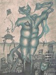 Obras de arte: America : México : Mexico_Distrito-Federal : Coyoacan : COLOSO SENTIMIENTO
