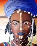 Obras de arte: Europa : España : Catalunya_Barcelona : Barcelona_ciudad : Mirada de Niger (Africa)