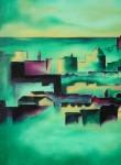 Obras de arte: Europa : España : Euskadi_Bizkaia : Bilbao-ciudad : Afternoon 87x72cm 1999