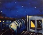 Obras de arte: Europa : España : Euskadi_Bizkaia : Bilbao-ciudad : Christmas Spirit 92x64cm 1997
