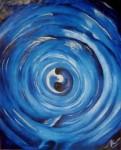 Obras de arte: Europa : España : Euskadi_Bizkaia : Bilbao-ciudad : Colliding egg 55x46cm 2004