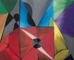 Obras de arte: Europa : España : Valencia : Grau-de-Gandía : Bodegón abstracto