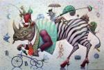 Obras de arte: America : Cuba : La_Habana : Vedado : los otros naufragos