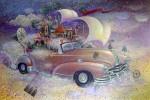 Obras de arte: America : Cuba : La_Habana : Vedado : taxi